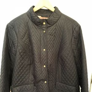 Talbots Nylon Black Jacket